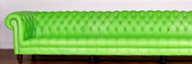 Lime Green Chesterfield Sofa